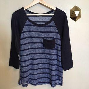 Papermoon Stitch Fix Cresson Knit Top Stripe Tee M
